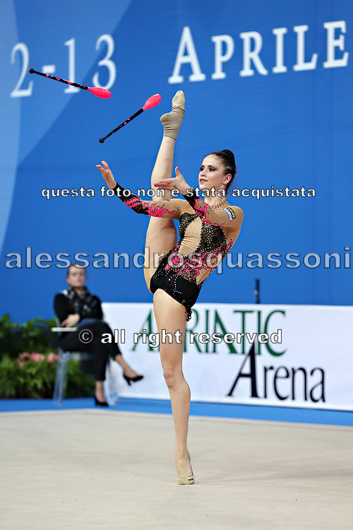 Neviana Vladinova from Bulgaria. She is born in Pleven in 1994. Her dream is to win a medal at the 2020 Olympic Games in Tokyo.