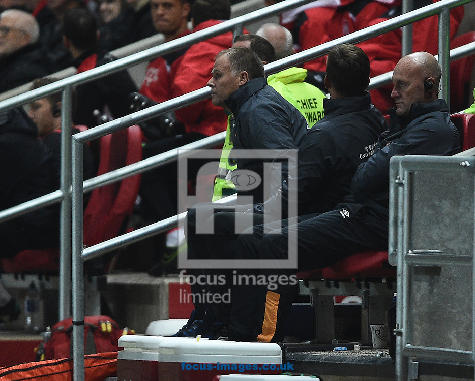 Assistant coach Neil McDonald of Hull City Tigers during the EFL Cup match at Ashton Gate, Bristol<br /> Picture by Daniel Hambury/Focus Images Ltd +44 7813 022858<br /> 25/10/2016