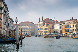 General views of the Grand Canal in Venice. From a series of travel photos in Italy. Photo date: Monday, February 11, 2019. Photo credit should read: Richard Gray/EMPICS Entertainment