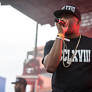 WASHINGTON, DC - August 17th, 2013 -  Raheem DeVaughn performs at the 2013 Trillectro Festival at the Half Street Fairgrounds in Washington, D.C.  (Photo by Kyle Gustafson / For The Washington Post)