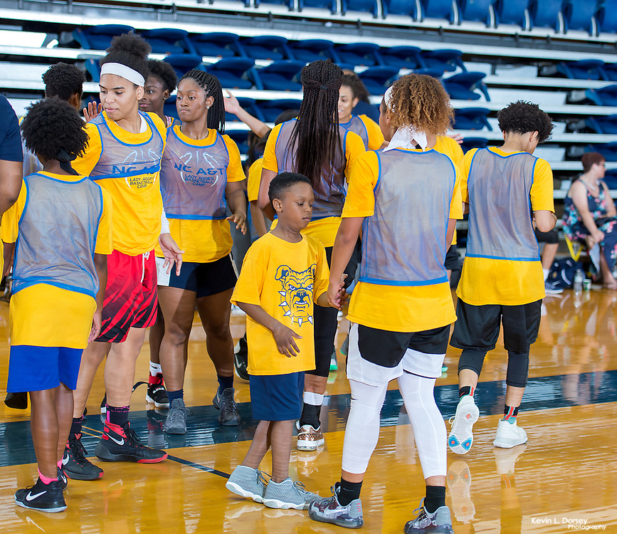2017 A&T Women's Basketball Elite Basketball Camp