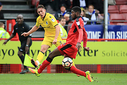 Connor Roberts of Bristol Rovers crosses the ball in the penalty area - Mandatory by-line: Jason Brown/JMP - 05/11/2016 - FOOTBALL - Checkatrade.com Stadium - Crawley, England - Crawley Town v Bristol Rovers - Emirates FA Cup first round