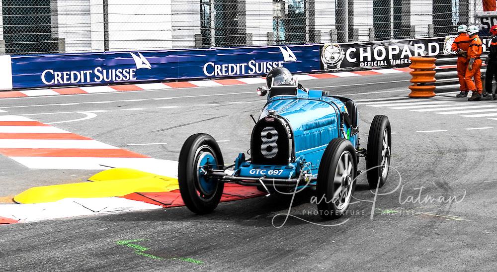 Monaco Grand Prix Historic 2014 Julia de Baldanza,