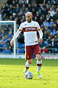 Nicky Law (7) of Bradford City during the EFL Sky Bet League 1 match between Portsmouth and Bradford City at Fratton Park, Portsmouth, England on 28 October 2017. Photo by Graham Hunt.