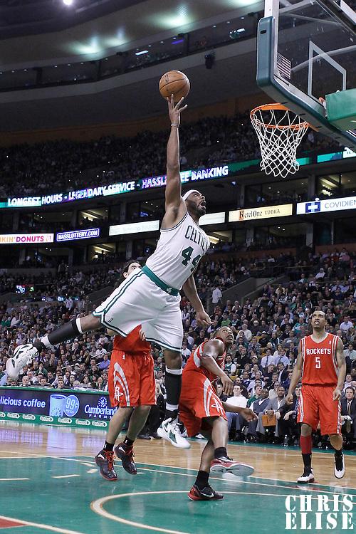 06 March 2012:  during the Boston Celtics 97-92 (OT) victory over the Houston Rockets at the TD Garden, Boston, Massachusetts, USA.