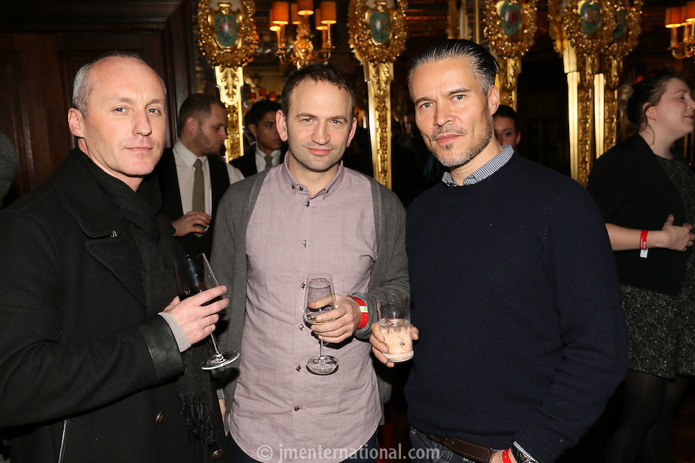 The Critics Drinks, Cafe Royal, London.<br />