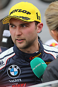 Andrew Jordan talks with ITV during the British Touring Car Championship (BTCC) at  Brands Hatch, Fawkham, United Kingdom on 7 April 2019.