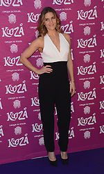 Amanda Byram attends  Cirque Du Soleil Kooza Press Night  at The Royal Albert Hall, Kensington Gore, London on Tuesday 6 January 2015