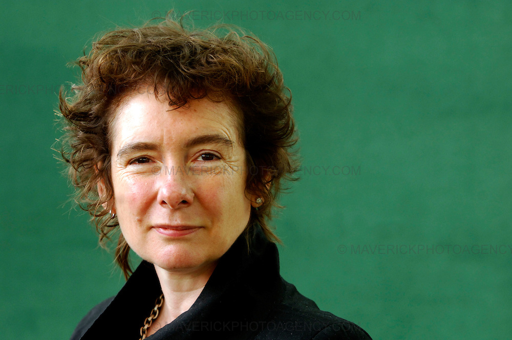 EDINBURGH, UK - 16th August 2010: Author portrait session coverage of The Edinburgh International Book Festival 2010 at Charlotte Square in Edinburgh...Picture shows author of 'Oranges are not the only fruit' Jeanette Winterson..(Photograph: Richard Scott/MAVERICK)