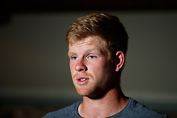 Kyle Edmund during his press conference ahead of the 2018 Fever-Tree Championships at Queen's Club, London.
