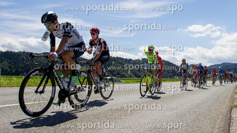 Sbaragli Kristian (Italy) of Team Dimension Data during Stage 2 of 23rd Tour of Slovenia 2016 / Tour de Slovenie from Nova Gorica to Golte  (217,2 km) cycling race on June 17, 2016 in Slovenia. Photo by Urban Urbanc / Sportida