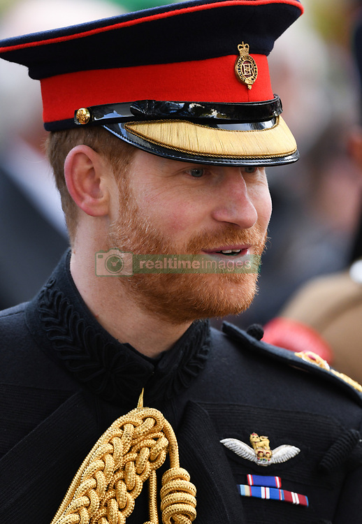 The Duke of Sussex at The Opening of The Field of Remembrance, Westminster Abbey, London . Photo credit should read: Doug Peters/EMPICS