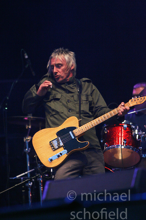 Paul Weller headlines on the NME stage..T in the Park, Saturday 2006..©Michael Schofield.
