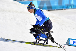 RAD Taras UKR LW12 competing in the ParaSkiDeFond, Para Nordic Skiing, Sprint at  the PyeongChang2018 Winter Paralympic Games, South Korea.