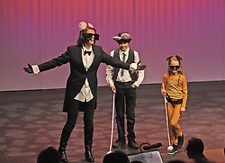 The Three Blind Mice from Prince Handsome Una Geraghty, Joe Reidy and Sophie Clough.<br />