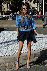 Anna Dello Russo attending the Miu Miu show as a part of Paris Fashion Week Ready to Wear Spring/Summer 2017 in Paris, France on October 05, 2016. Photo by Aurore Marechal/ABACAPRESS.COM