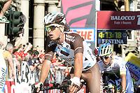Betancur Gomez Carlos Alberto -  Ag2r La Mondiale  - 10.05.2015 - 2eme etape du Giro 2015<br />Photo : Sirotti / Icon Sport