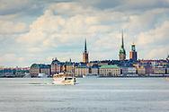 Båt fartyg Östanå på Stockholms ström  Gamla stan Stockholm
