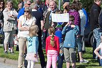 Bomprotest p&aring; Kverve 19. mai.<br /> Foto: Svein Ove Ekornesv&aring;g