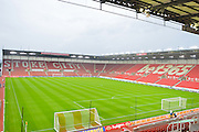 The bet365 stadium ahead of the EFL Cup match between Stoke City and Hull City at the Britannia Stadium, Stoke-on-Trent, England on 21 September 2016. Photo by John Marfleet.