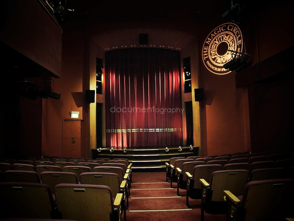 The Theatre at the Magic Circle's HQ in London's Euston.