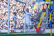 Pontus Jansson of Leeds United (18) appeals for a corner during the EFL Sky Bet Championship match between Leeds United and Bolton Wanderers at Elland Road, Leeds, England on 23 February 2019.