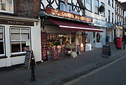 """Henley, Oxfordshire. England General Views Henley Town  The frontage of Gabriel MACHINs Game and Butchers shop in """"Market Place""""Thursday  01/12/2016<br /> © Peter SPURRIER<br /> LEICA CAMERA AG  LEICA Q (Typ 116)  f1.8  1/640sec  35mm  10.3MB"""