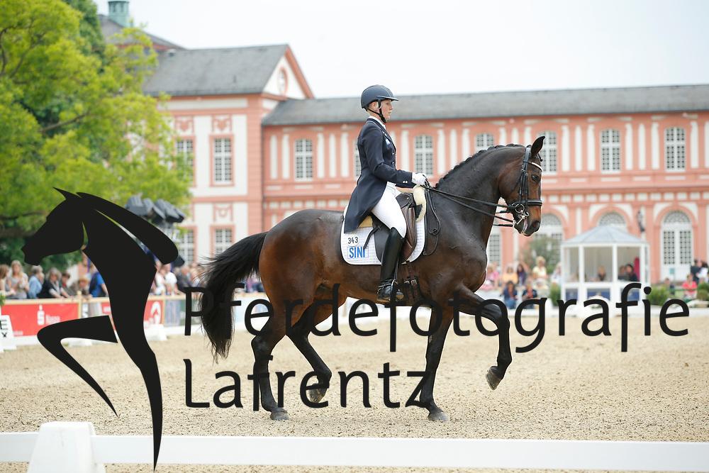 Kanerva, Emma, Sini Solina<br /> Wiesbaden - Pfingstturnier 2015<br /> Grand Prix de Dressage<br /> © www.sportfotos-lafrentz.de/Stefan Lafrentz