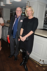 ELISABETH MURDOCH and RICHARD WILSON at Shepherd's Delight an evening of Dinner & Entertainment in aid of The National Youth Theatre of Great Britain held at Shepherd's, Marsham Street, London on3rd December 2012.