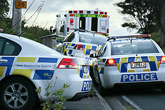 Auckland-Police investigate homicide in Wairere Road, Waitakere