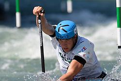 Lukas ROHAN of Czech Republic during the Canoe Single (C1) Men SemiFinal race of 2019 ICF Canoe Slalom World Cup 4, on June 28, 2019 in Tacen, Ljubljana, Slovenia. Photo by Sasa Pahic Szabo / Sportida