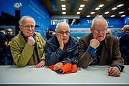 WIJK AAN ZEE - schaakfans tijdens de derde ronde van de 81e editie van het Tata Steel Chess Tournament.  copyruyght robin utrecht