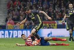 February 21, 2019 - Madrid, Madrid, Spain - Mario Mandžukic  of Juventus  during UEFA Champions League round of 16 soccer match between Atletico Madrid and Juventus at Wanda Metropolitano Stadium in Madrid, Spain on February 20, 2019 Photo: Oscar Gonzalez/NurPhoto  (Credit Image: © Oscar Gonzalez/NurPhoto via ZUMA Press)