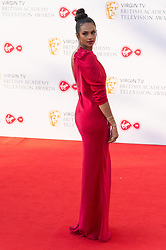 © Licensed to London News Pictures. 13/05/2018. London, UK. ALESHA DIXON arrives for the Virgin TV British Academy (BAFTA) Television Awards. Photo credit: Ray Tang/LNP