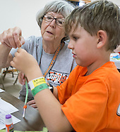 Grandparent university. grand parents along with their grand children attend classes on lots of subjects with many opportunities for hands on learning.