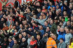Liverpool's Fans - Photo mandatory by-line: Nizaam Jones/JMP - Mobile: 07966 386802 - 24/05/2015 - SPORT - Football - Stoke - Britannia Stadium - Stoke City v Liverpool - Barclays Premier League
