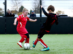 Match action from The BCCT EFL Kids Cup Final - Mandatory by-line: Robbie Stephenson/JMP - 23/11/2016 - FOOTBALL - South Bristol Sports Centre - Bristol, England - BCCT EFL Kids Cup