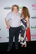FORTUNE FEIMSTER (L) and BETH GRANT attend The Mindy Project 100th Episode Party at E.P. & L.P. in West Hollywood, California.