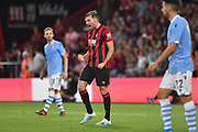 Jack Stacey (17) of AFC Bournemouth celebrates his goal during the Pre-Season Friendly match between Bournemouth and SS Lazio at the Vitality Stadium, Bournemouth, England on 2 August 2019.