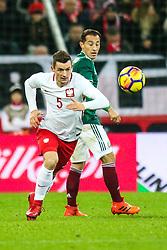 November 13, 2017 - Gdansk, Poland - Krzysztof Maczynski (POL) during the International Friendly match between Poland and Mexico at Energa Stadium in Gdansk, Poland on November 13, 2017. (Credit Image: © Foto Olimpik/NurPhoto via ZUMA Press)
