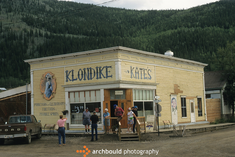 Klondike Kates restaurant in Dawson City Yukon