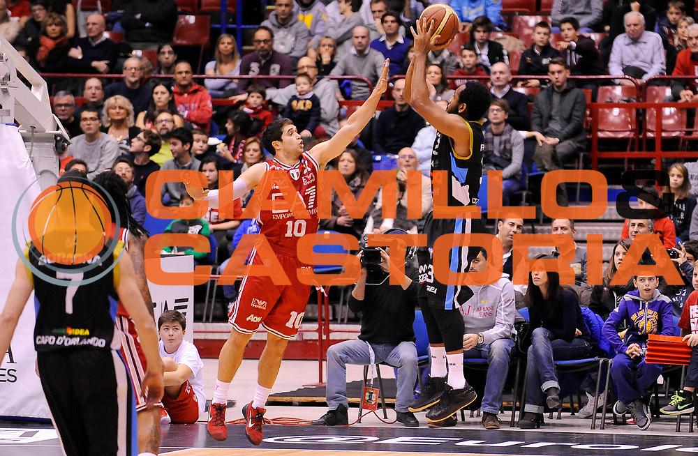 DESCRIZIONE : Milano Campionato Lega A 2014-15 EA7 Emporio Armani Milano Upea Capo D'Orlando<br /> GIOCATORE : Austin Freeman<br /> CATEGORIA : Tiro Controcampo<br /> SQUADRA : Upea Capo D'Orlando<br /> EVENTO : Campionato Lega A 2014-15<br /> GARA : EA7 Emporio Armani Milano Upea Capo D'Orlando<br /> DATA : 26/12/2014<br /> SPORT : Pallacanestro <br /> AUTORE : Agenzia Ciamillo-Castoria/A.Giberti<br /> Galleria : Campionato Lega A 2014-15  <br /> Fotonotizia : Milano Campionato Lega A 2014-15 EA7 Emporio Armani Milano Upea Capo D'Orlando<br /> Predefinita :