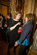 NATASHA FRASER; CATHERINE GUINNESS,  Drinks the evening before the The 2008 Crillon Debutante Ball. Baccarat. Place des Etats-Unis.  Paris. 29 November 2008. *** Local Caption *** -DO NOT ARCHIVE-© Copyright Photograph by Dafydd Jones. 248 Clapham Rd. London SW9 0PZ. Tel 0207 820 0771. www.dafjones.com.