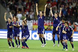 17.07.2011, Commerzbankarena, Frankfurt, GER, FIFA Women Worldcup 2011, Finale,  Japan (JPN) vs. USA (USA), im Bild:  .Jubel Japan nach dem WM titel Gewinn.. // during the FIFA Women Worldcup 2011, final, Japan vs USA on 2011/07/11, FIFA Frauen-WM-Stadion Frankfurt, Frankfurt, Germany.   EXPA Pictures © 2011, PhotoCredit: EXPA/ nph/  Mueller       ****** out of GER / CRO  / BEL ******