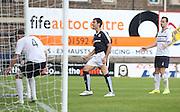 Julen Etxabeguren celebrates his goal - Raith Rovers v Dundee, pre-season friendly at Starks Park<br /> <br />  - &copy; David Young - www.davidyoungphoto.co.uk - email: davidyoungphoto@gmail.com