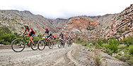 A swirling wind and overcast conditions in the Seweweekspoort provided a chilly start to the 2016 Ladismith Cheese 7Weekspoort MTB Challenge, on the 1st October 2016<br /> <br /> Photo by:    /Oakpics/ SPORTZPICS<br /> <br /> <br /> {dem16gst}