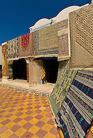 Rugs for sale, Djerba Island, Tunisia