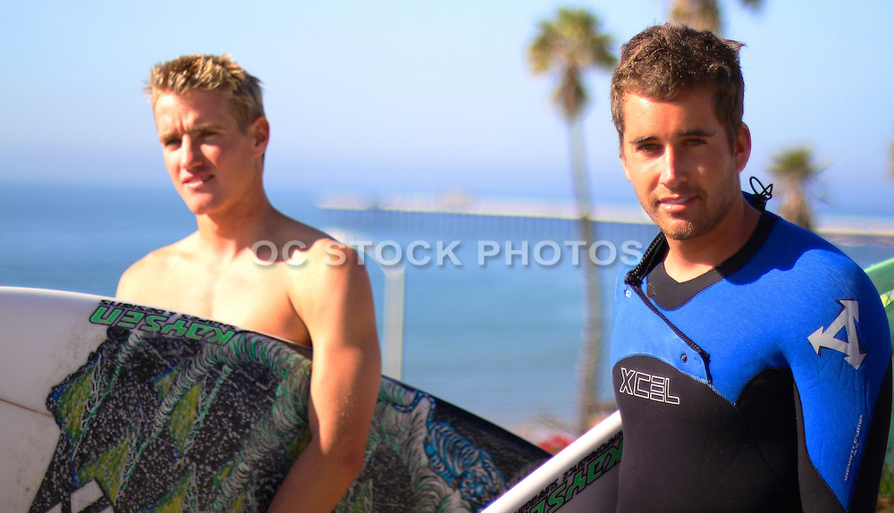 Young Local San Clemente Surfers