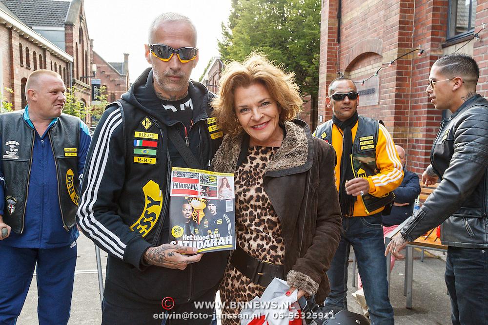NLD/Amsterdam/20150618 - Voorvertoning Satudarah – One Blood documentaire, Mylene de la Haye en ..........