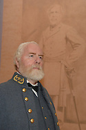 General Robert E. Lee portrayed  by Dick Crozier